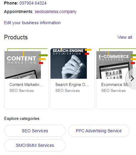 Seo Business Company