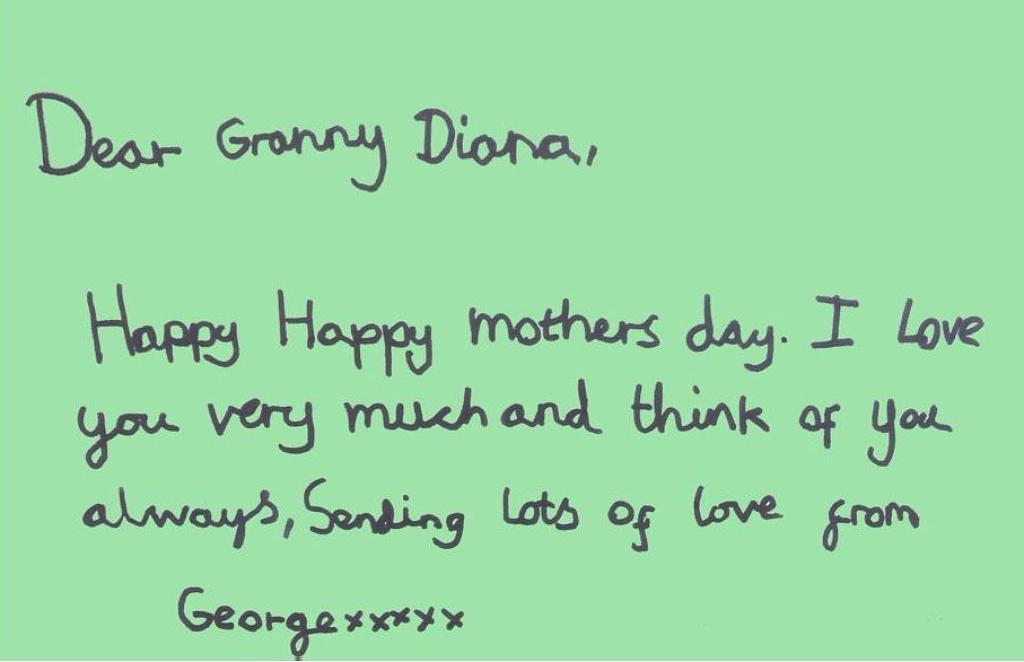 Lady Diana, le frasi d'amore dei nipotini