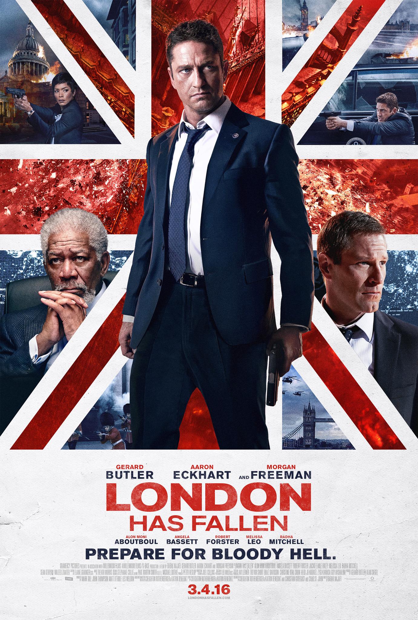 London Has Fallen (2016) Hindi Dubbed 720p HDRip Download
