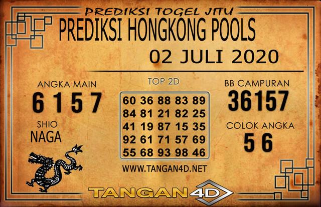 PREDIKSI TOGEL HONGKONG TANGAN4D 02 JULI 2020
