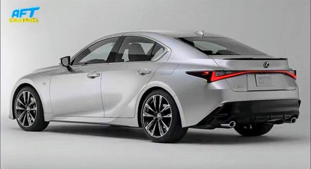 Lexus IS (2020) 16