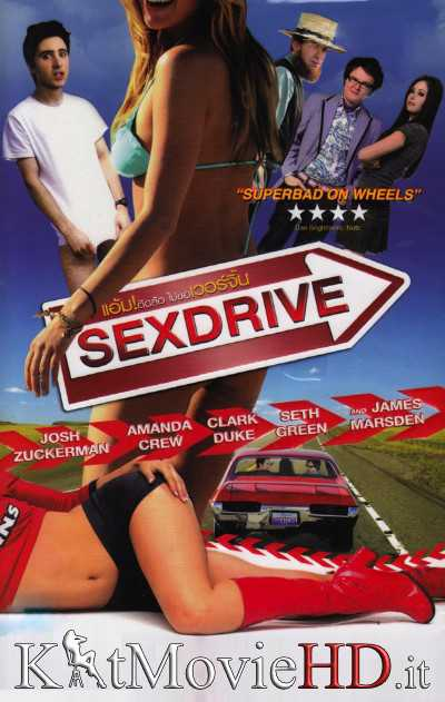 [18+] Sex Drive (2008) UNRATED 720p & 480p BRRip | Sex Comedy Movie !