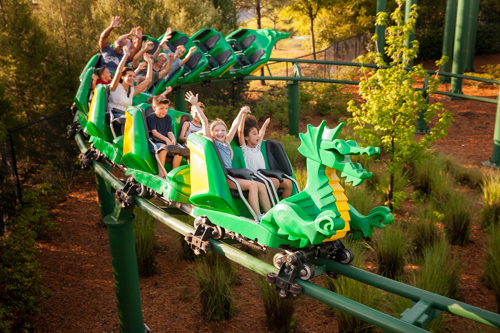 Legoland Florida Dragon Coaster