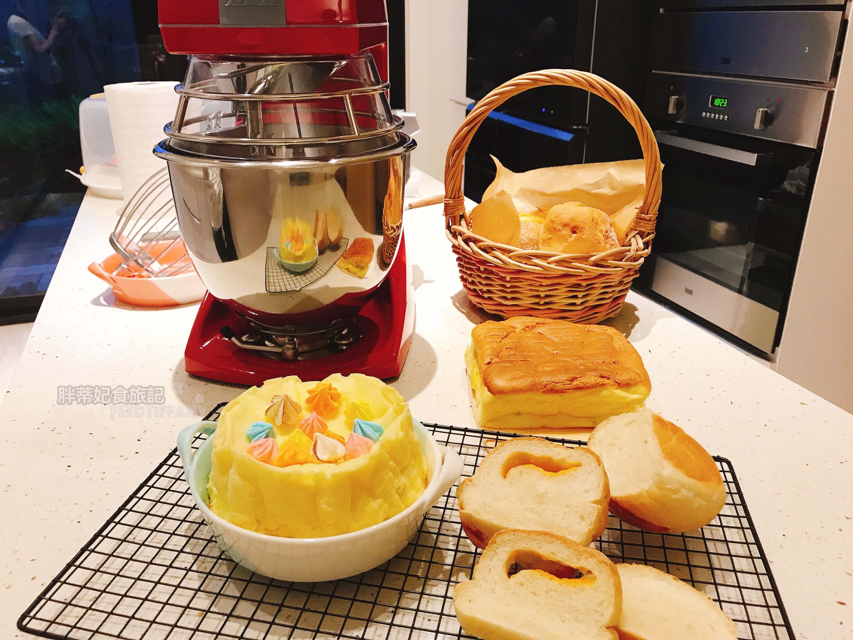 teddy verimixer 5l 麵包蛋糕機器大合照