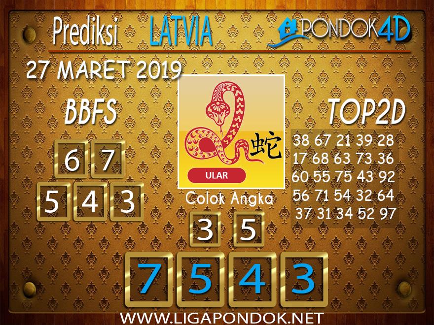 Prediksi Togel LATVIA PONDOK4D 27 MARET 2019