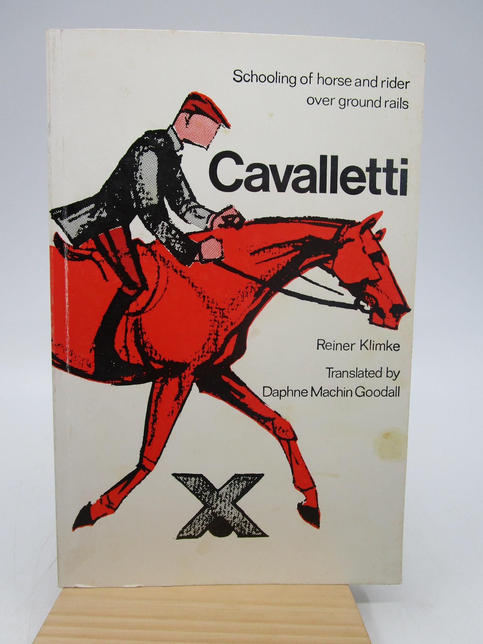 Image for Reiner Klimke Cavalletti: School of Horse and Rider over ground rails
