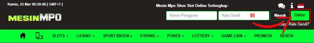 Daftar Mesinmpo Slot