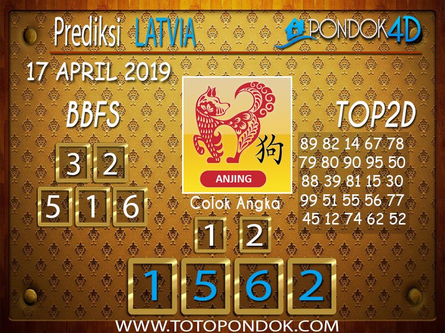 Prediksi Togel LATVIA PONDOK4D 17 APRIL 2019