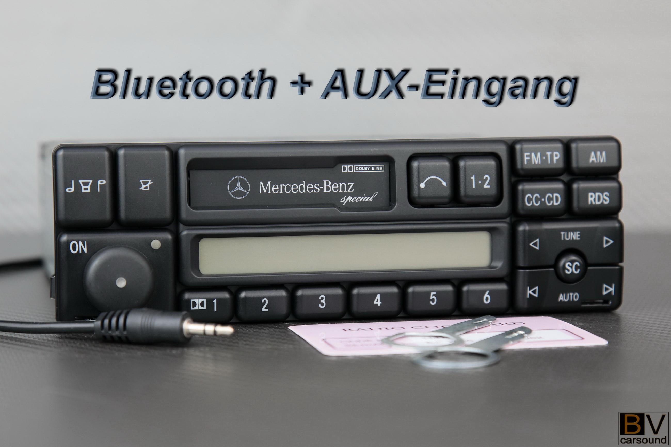 Mercedes-benz Classic aux-en w124 r129 r170 w140 w202 w463 radio becker be1150
