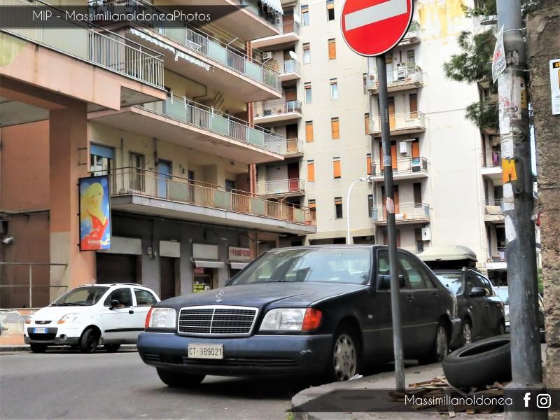 avvistamenti auto storiche - Pagina 18 Mercedes-W140-500-SE-5-0-326cv-8-NOVEMBRE-91-CT989021-124-511-5-11-2016