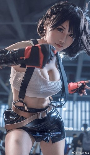 Bikin Panas, Gadis China Berdandan Sebagai Tifa dari Final Fantasy VII Remake