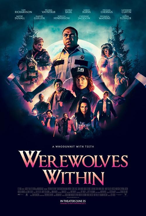 Werewolves Within | 2021 | m720p - m1080p | BluRay | Türkçe Altyazılı | Tek Link