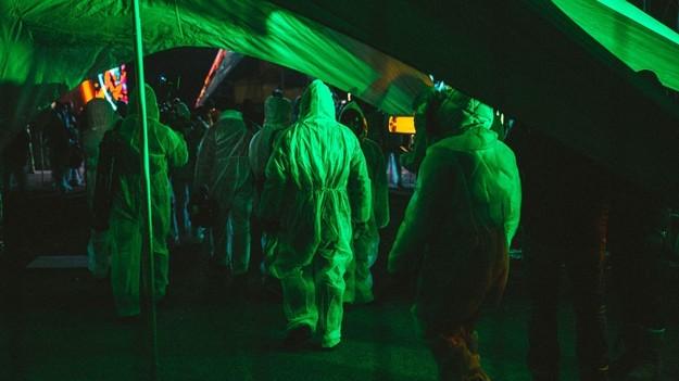 В Чернобыльской зоне устроили дискотеку