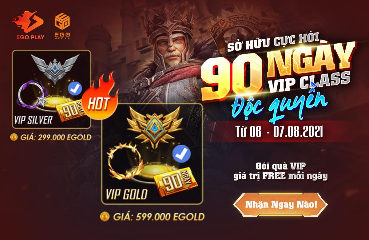 [KHUYẾN MẠI HẤP DẪN] Sở hữu 90 ngày VIP CLASS độc quyền