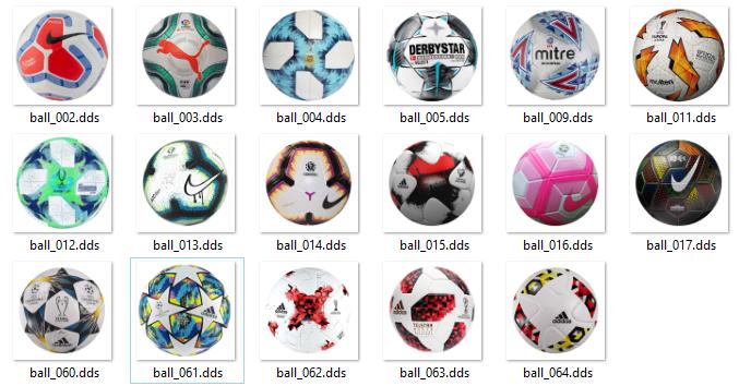 pes2020 beta2 balls