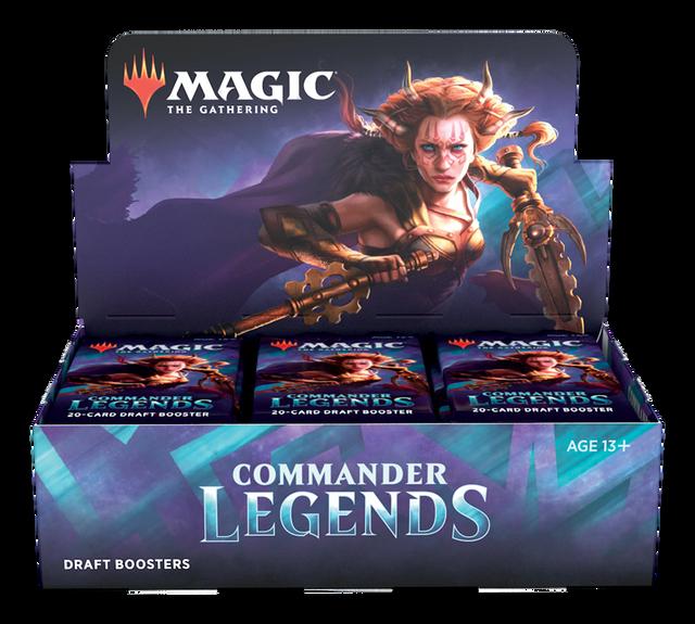 Commander Legends Draft Booster Pack Display (24 Packs)