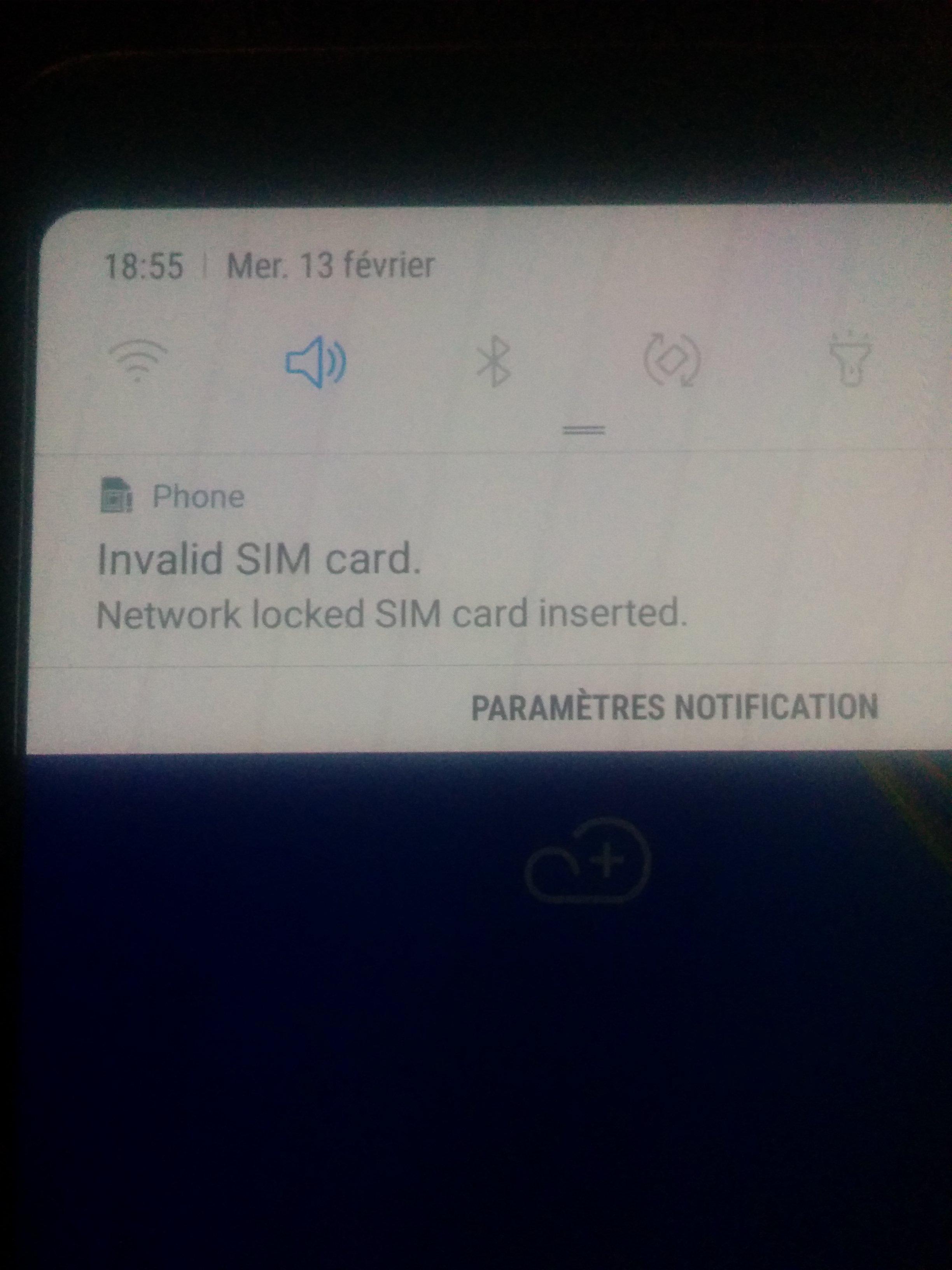 هاتف سامسونغ a7 2018 مشكل الشبكة مغلقة