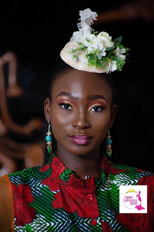 candidatas a miss ghana 2020. final: 21 de agosto. 8