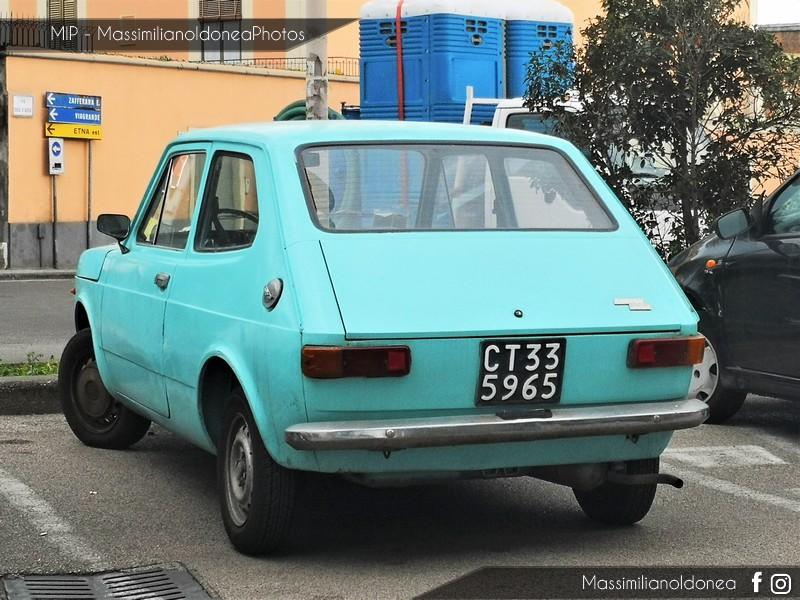 avvistamenti auto storiche - Pagina 11 Fiat-127-900-47cv-73-CT335965-2