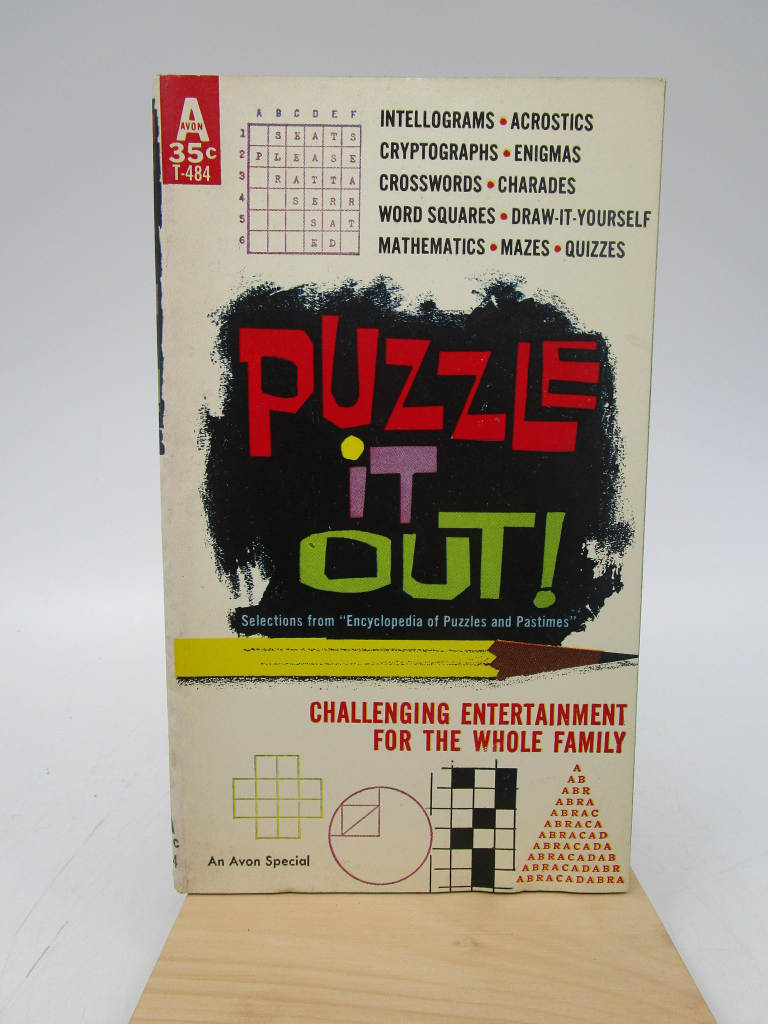 Image for Puzzle it Out (Avon T-484)