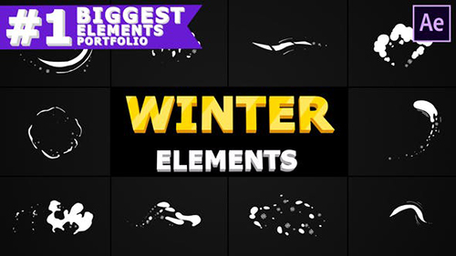 Winter Elements Pack 29593330 - After Effects Project & Script (Videohive)