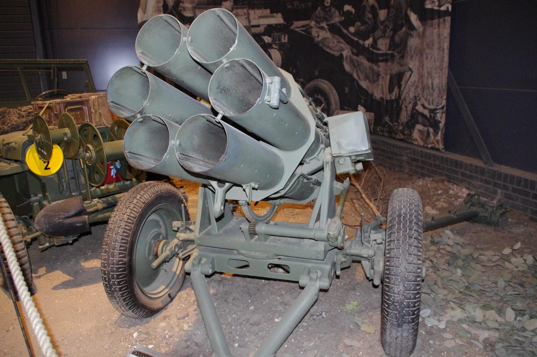 German 150mm Nebelwerfer