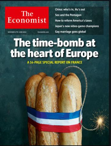 La portada de economist  French404