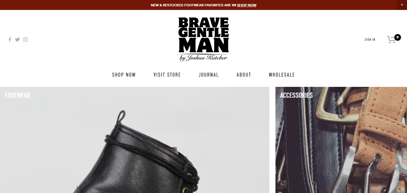 The Brave Gentlemen by Joshua Katcher travel product recommended by Darice Chang on Pretty Progressive.