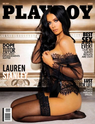 Cover: Playboy Africa – July 2021