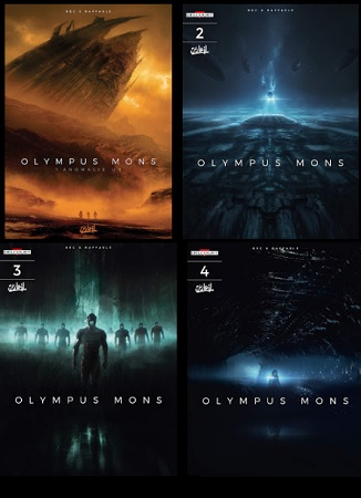 Olympus Mons (1-4) [Komiks PL]