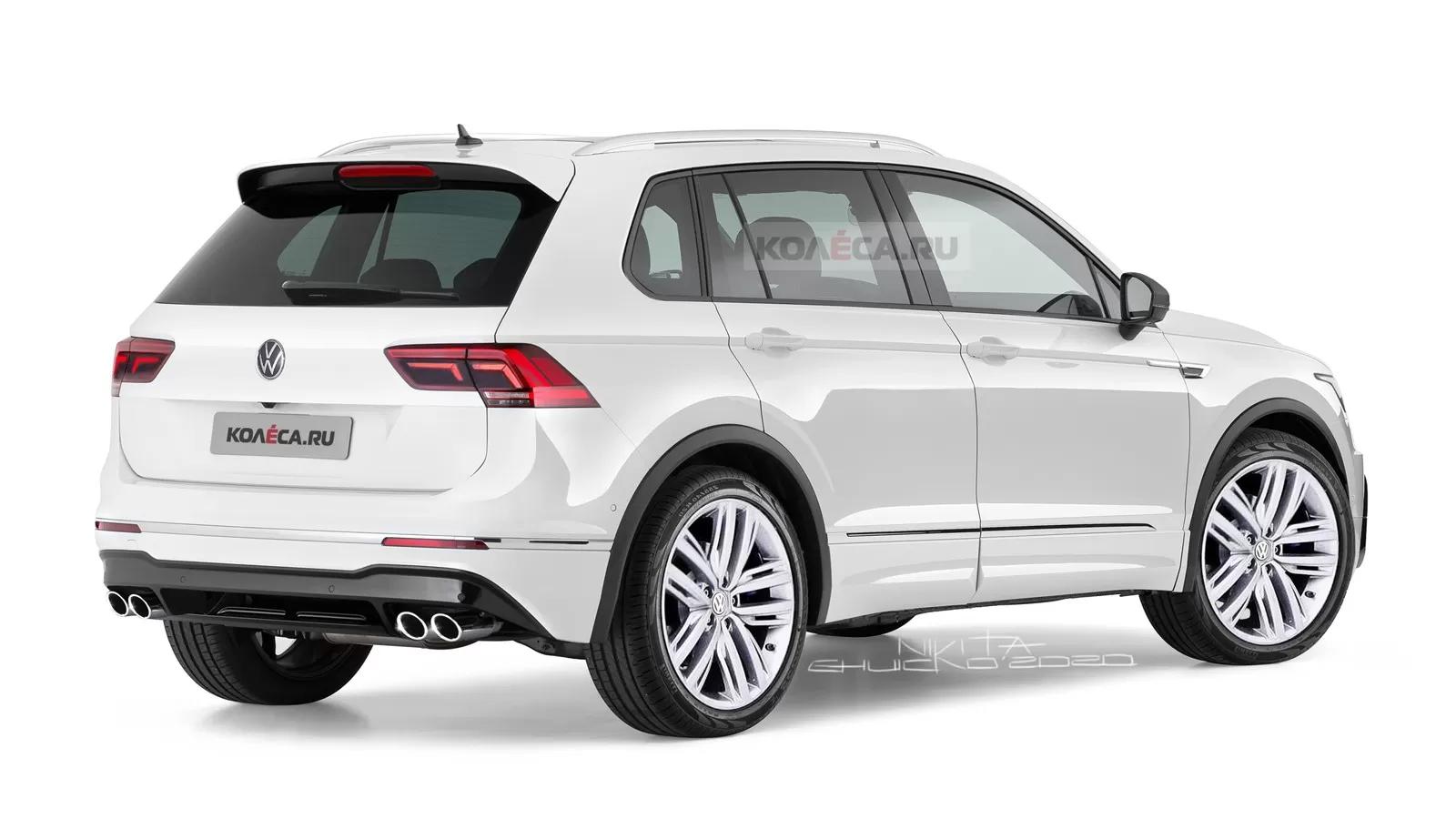 Volkswagen Tiguan II Facelift (2020) 6