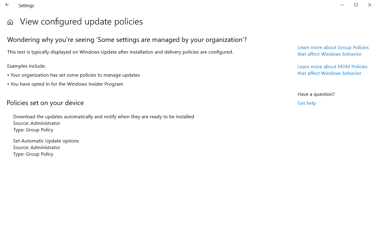 Topic After Updates Paused Unable To Resume Updates Askwoody