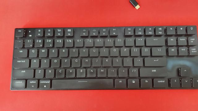 I/P: mechanicka klavesnica Keychron K1