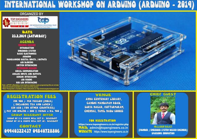 Arduino-2019-Poster