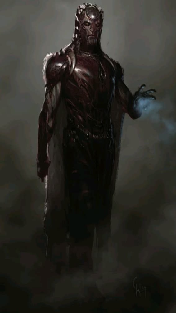 Dark Elf Concept Art Thor