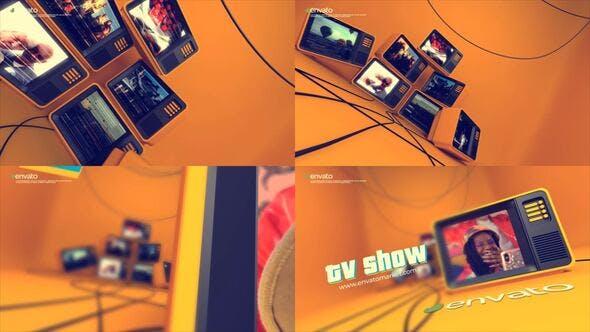 Videohive - Tv Logo Opener - 32882567