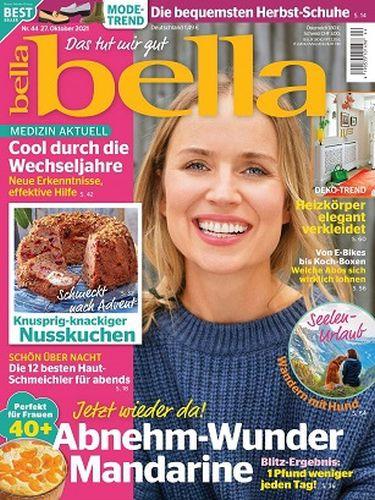 Bella Frauenmagazin No 44 vom 27  Oktober 2021