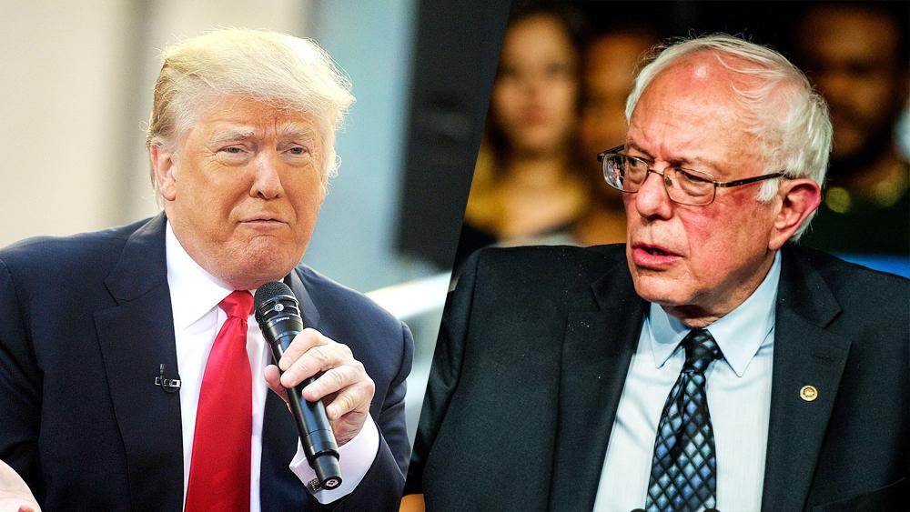 donald-trump-bernie-sanders-debate