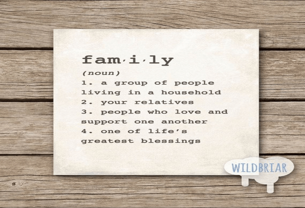 Family Dictionary Lifestyle