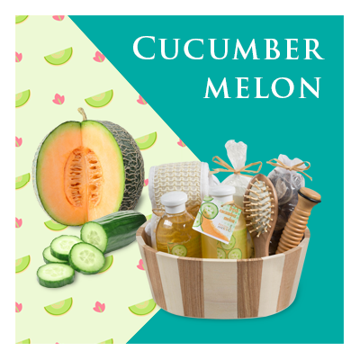 Bath Body and Spa Gift Sets in Relaxing Cucumber Melon Fragrance Perfect for Women