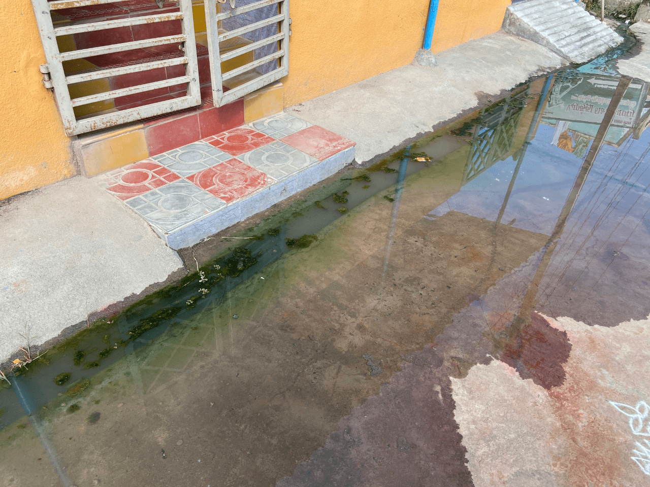 sannathi-street-drainage-overflow