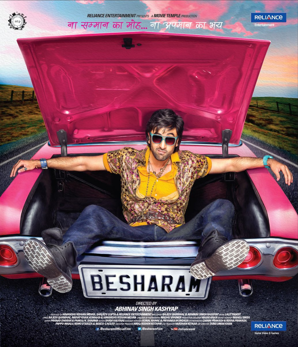 Besharam 2020 Hindi Movie 720p BluRay 950MB Download