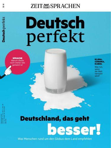 Cover: Deutsch Perfekt Magazin No 11 2021