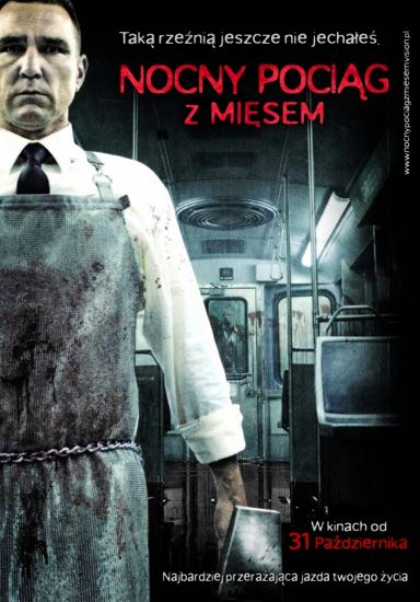 Nocny pociąg z mięsem / The Midnight Meat Train (2008) PL.BRRip.XviD-GR4PE | Lektor PL