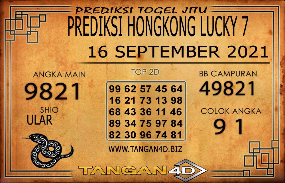 PREDIKSI TOGEL HONGKONG LUCKY7 16 SEPTEMBER 2021