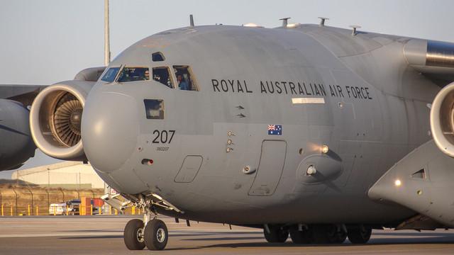 RAAF C17 A41 207 March 2017 img2