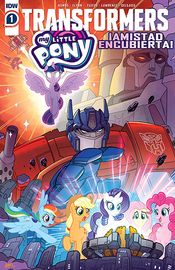[IDW] [2020] TransFormers - My Little Pony