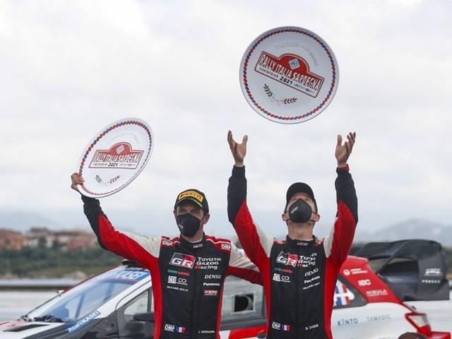 TOYOTA GAZOO Racing réalise un superbe doublé au Rallye d'Italie  C800-wrc-2021-rd-5-325-2