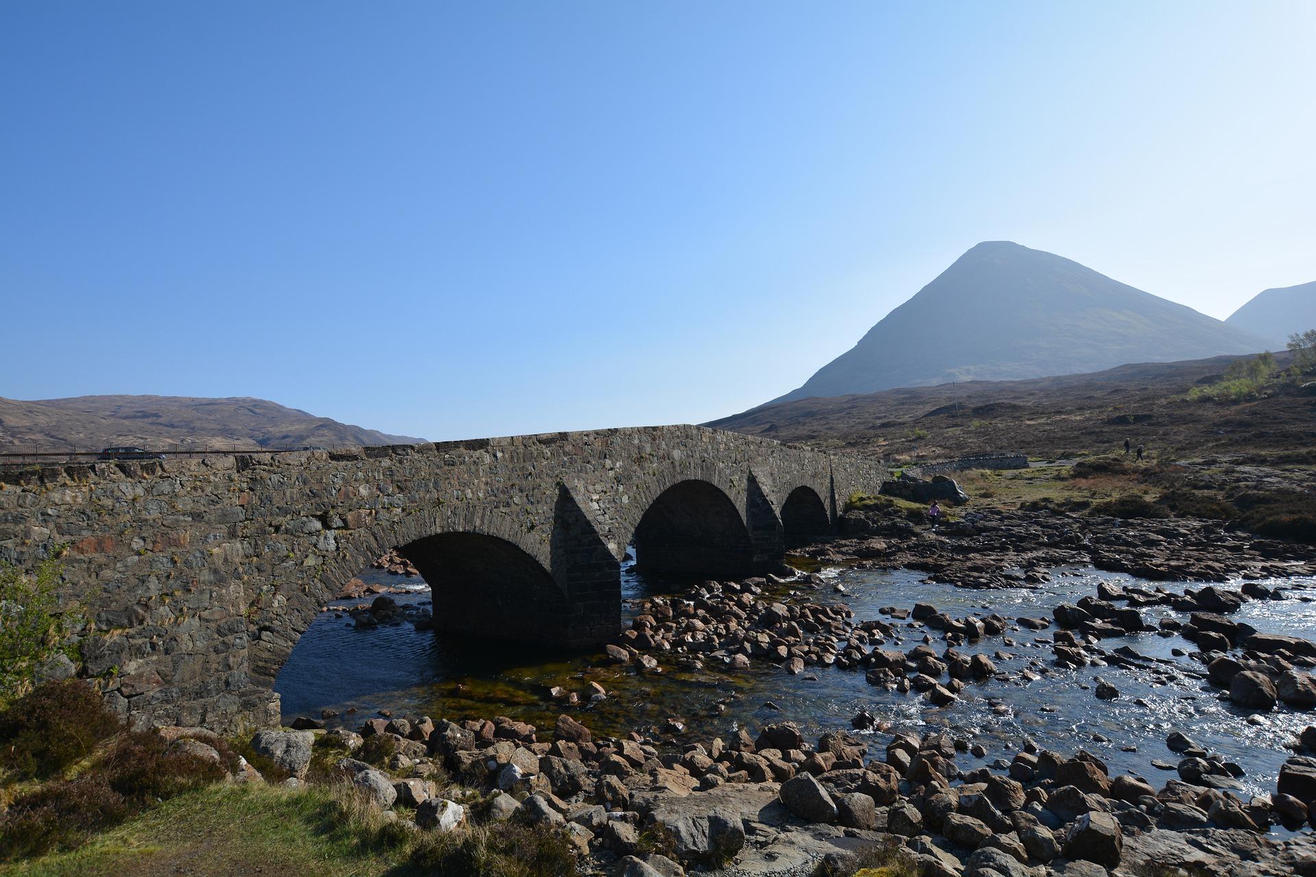 Sligachan-Bridge, Isle of Skye