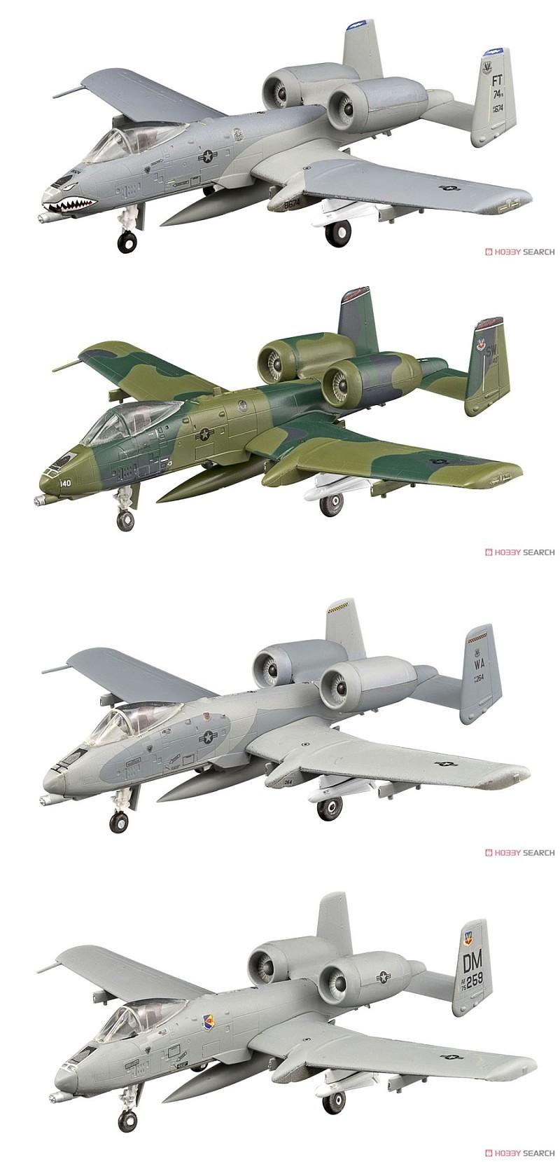 F-Toys VS12 A-10 и Bronco 1/144